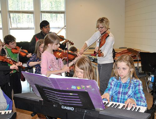 Youth fiddlers present Gold and Fiddle Fever